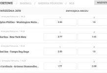 Baseball obstawianie. Aktualna oferta na Noblebet.pl